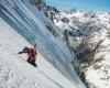 Couloir Glacier Long Ailefroide Écrins