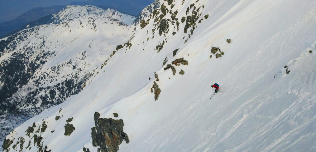 Couloir NW Grands Moulins