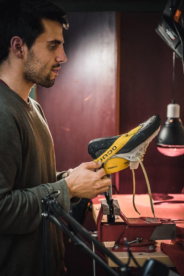 El resolado de los pies de gato, es un proceso artesanal